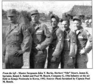 3rd Infantry Division Photographs-Korea