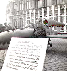 V1 Rocket, displayed in Germany